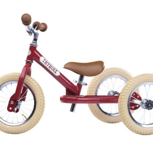 trybike 3 hjul rød